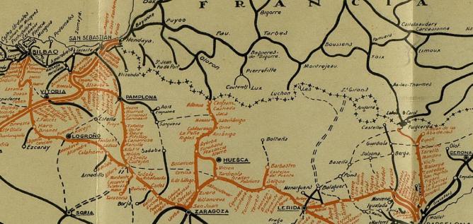 Caminos de Hierro del Norte de España , Plano 2