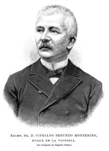 Cipriano Segundo Montesino y Estrada , Duque de la Victoria