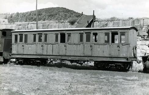 Coche Bristol , del ferrocarril de La Robla, fotoJordi Casaponsa