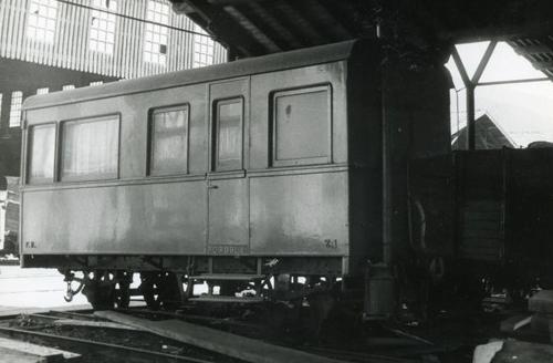 Coche salón del Ferrocarril de la Robla, foto Jordi Casaponsa