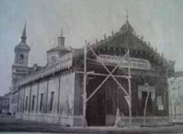 Cocheras del Rincon de la Aduana, año 1911, archivo Arraul Bajo (1)