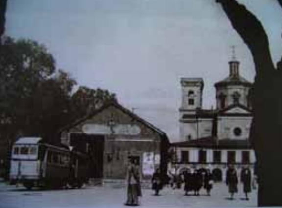 Cocheras del Rincon de la Aduana, año 1911, archivo Arraul Bajo