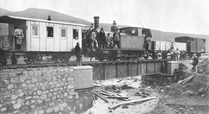 Compañia española de minas del Rif, Foto Vazquez, La Ilustracion Española 15.12.1909