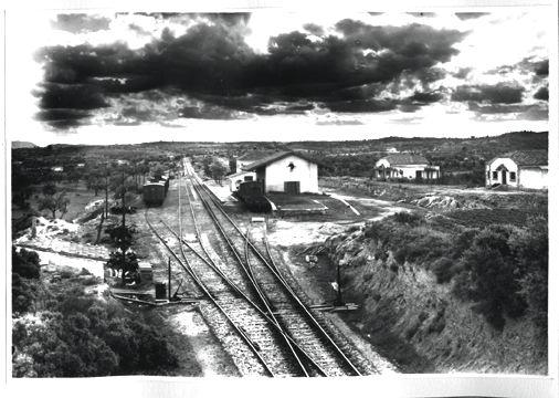Cretas, Fotografo Francisco Rivera, Fondo Museo dewl Ferrocarril de Catalunya