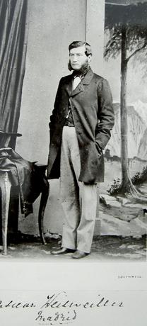 Daniel Weisweiller , fondo Archivo Rothschild.Londres