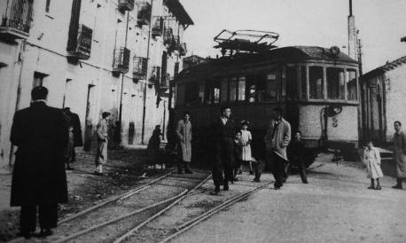 Dcarrilamiento del automotor nº 3 en Villaba, Archivo El Tuto-Anguiluerreka