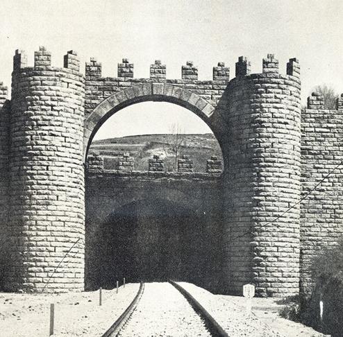 Directo de Madrid a Burgos, Boca Sur del túnel de Somosierra, - copia