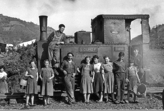 Duro Felguera, locomotora nº 2 PILAR, Archivo Historico Minero