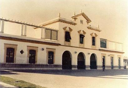 Estación de Ecija , año 1960, AHF- FA.0019-010