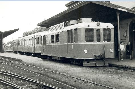 Económicos de Asturias, automotor Bissonneaux & Lotz, foto Jordi Casaponsa , archivo Euskotren , MVF