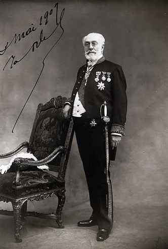 Edouard Otlet, imagen archivo Mundaneum-Mons ( Belgica)