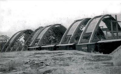 Embarcadero de Aldea Moret ,1-agosto-1957. Fotografo desconocido