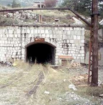 Entrada a la Mina de Vallcebre, foto Albert Martinez