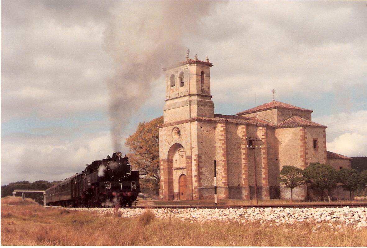 Especial Santander Mediterraneo- Soria a Calatayud-21.10.1984, foto Brian Garvin