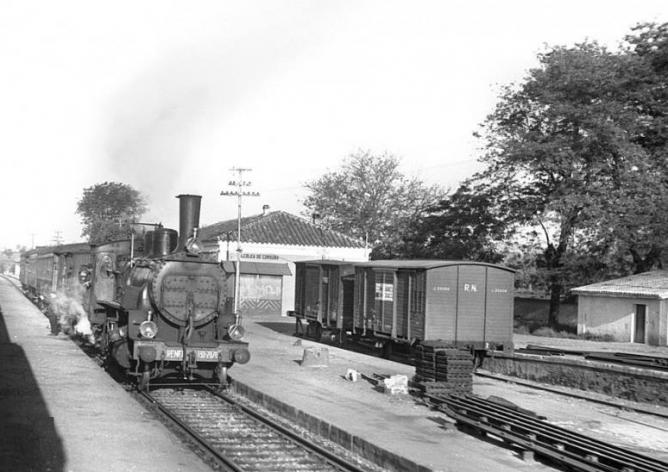 Estación de Alcolea de Cordoba, sin fotografo conocido