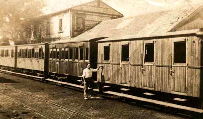 Estación de Almorox. Archivo Jose Floes y Sanchez-Arjona