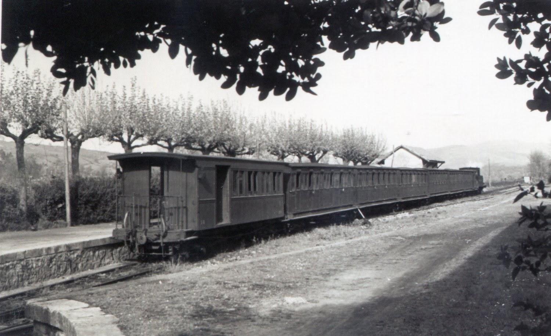 Estación de Liérganes, foto Juan Bautista Cabrera