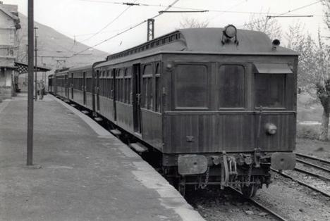 Estación de Muskiz, foto Juan Bta Cabrera, archivo MVF