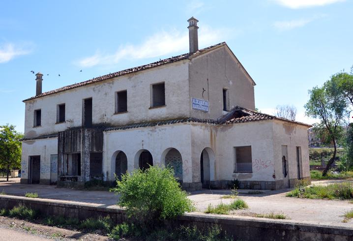 Estacion de Aldeanueva de Barbarroya , fondo FCMAF