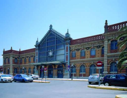 Estacion de Almeria , Sur de España