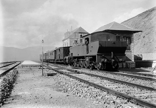 Estación de Alp (Gerona), c.1920, coleccion Roisin IEFC-ACM-9-10285