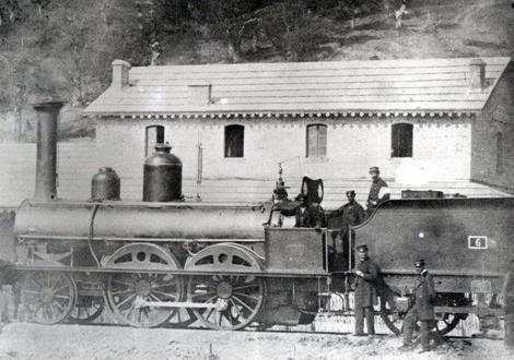 Estacion de Alsasua, enlace de Norte con el Pamplona á Zaragoza. Archivo Euskotren-MVF