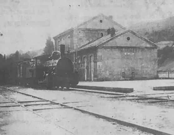 Estación de Bejar , autor desconocido