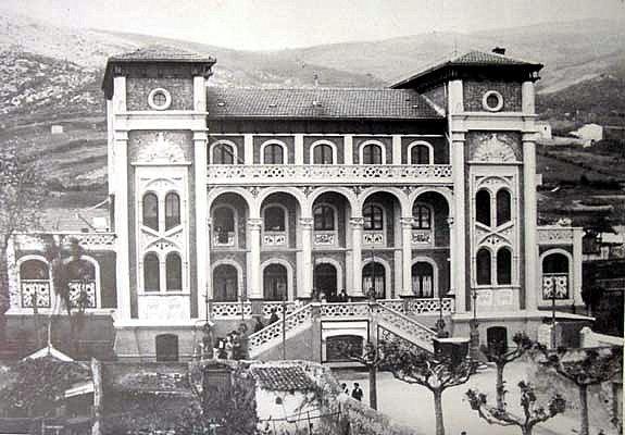 Estación de Castro, fotografo desconocido