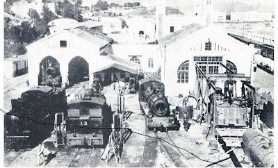 Estacion de Ceuta, deposito de locomotoras,fondo_:  Blog de Ceuta