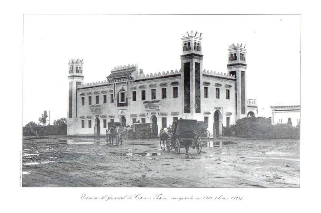 Estacion de Ceuta- hacia 1925
