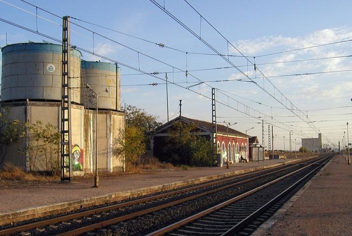 Estacion de Cinco Casas , foto Jose Luis Pinilla Trujillo, fondo FCMAF