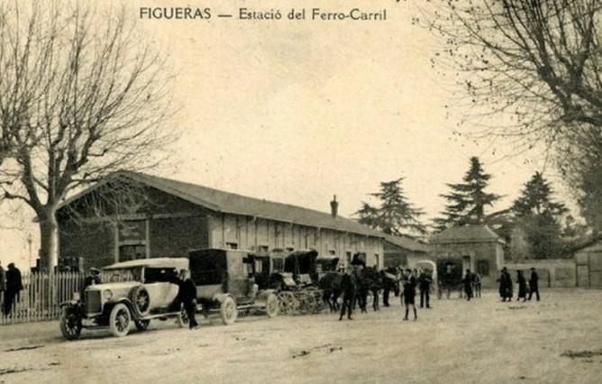 Estacion de Figueras, fondo Renfe 5ª Zona