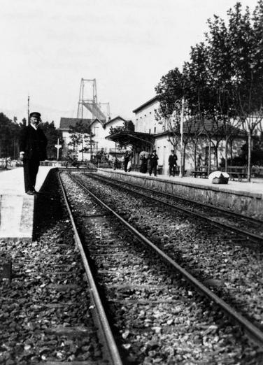 Estación de Getxo, autor desconocido