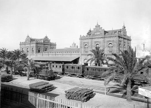 Estacion de Huelva, Colección Thomas IEFC- ACM 3-156