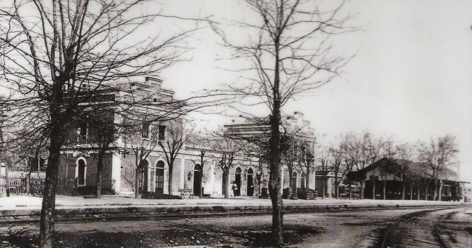 Estacion de Lorca San Diego, c. 1900, postal comercial