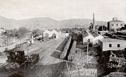 Estacion de Lucairena, fotografo desconocido