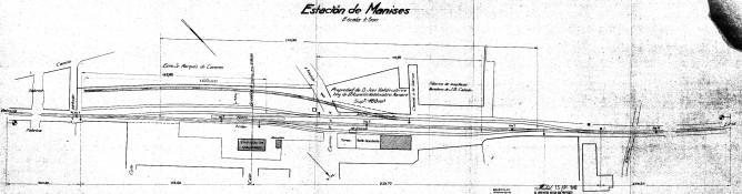 Estación de Manises, fondo AGAE caja AGA 25-7345, Ministerio de Cultura