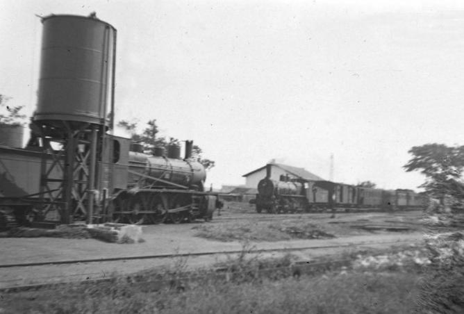 Estación de Marchena, línea de Marchena a Valchillon, fondo Railes del Sur