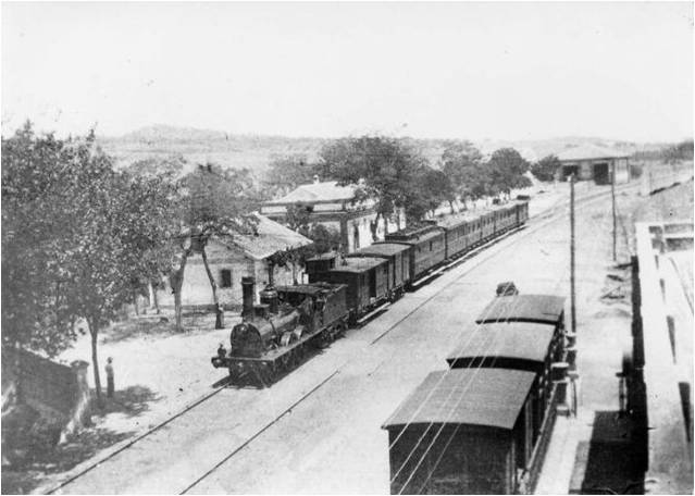 Estacion de Peñaflor, foto colección José Carranza Cruz
