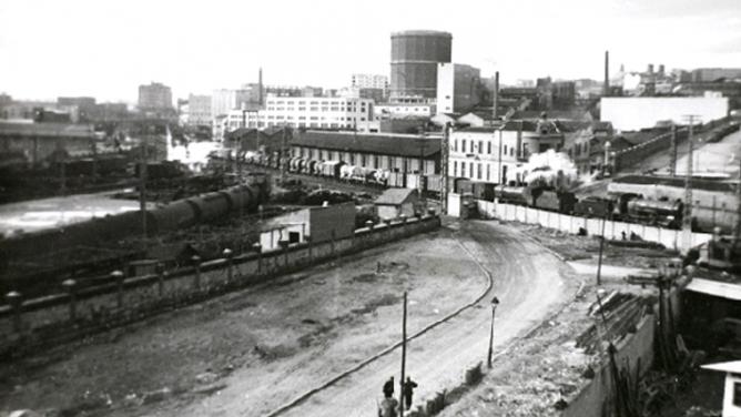 Estacion de Peñuelas, Contorno de Madrid año 1948