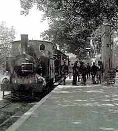 Estacion de Porreras, Ferrocarriles de Mallorca, Linea de Felanitx, fondo Eduardo Fernández Martinez