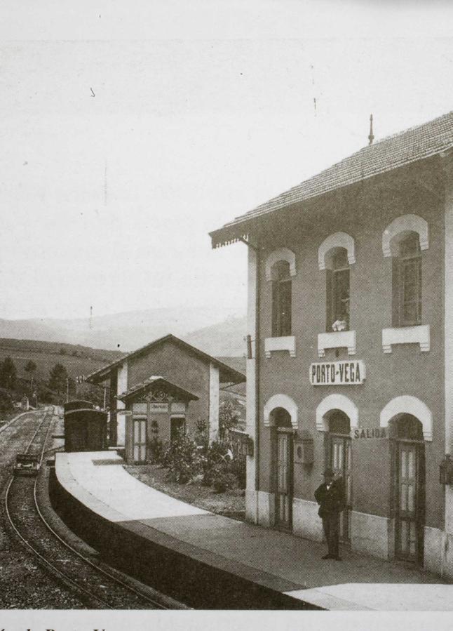 Estación de Porto Vega, Ferrocarril de Villaodrid