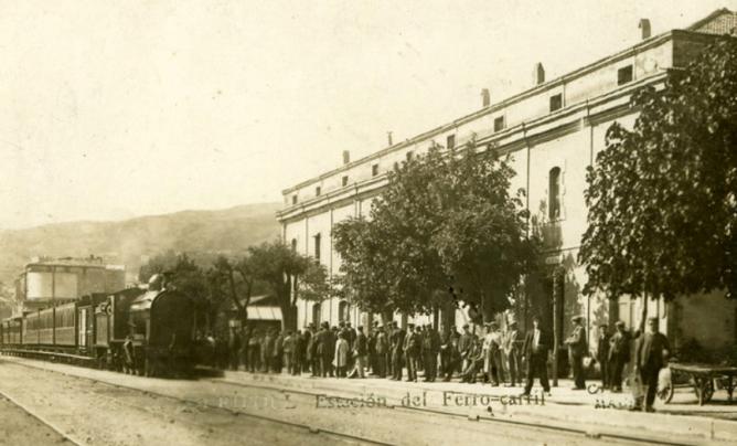 Estacion de Ripoll, Linea de Ripoll a Puigcerdá, fondo Renfe 5ª Zona