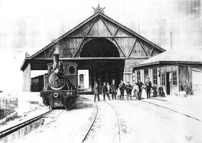 Estacion de San Agustín , MVF