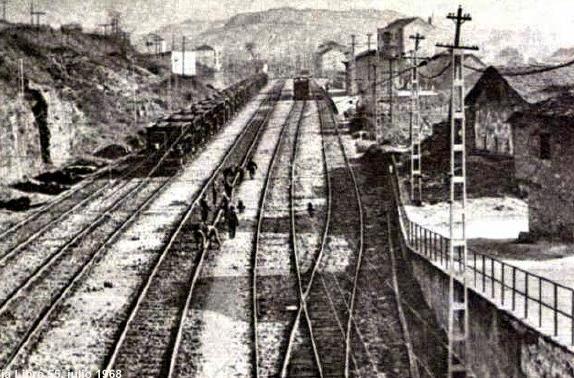 Estacion de San Miguel de Dueñas, Via Libre nº 55-1968