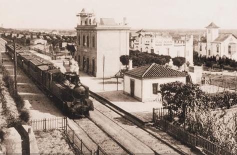 Estación de Sant Joan D´Espí , fotografo desconocido