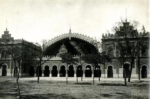Estacion de Sevilla Plaza de Armas, foto Linares