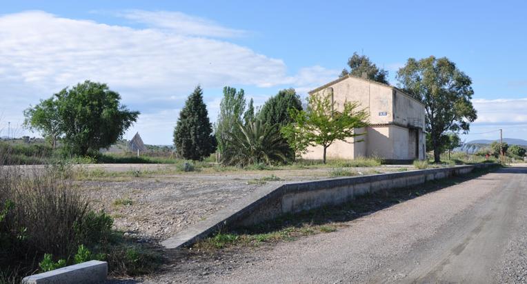 Estacion de Silos Villanueva a Logrosan, fondo FCMAF