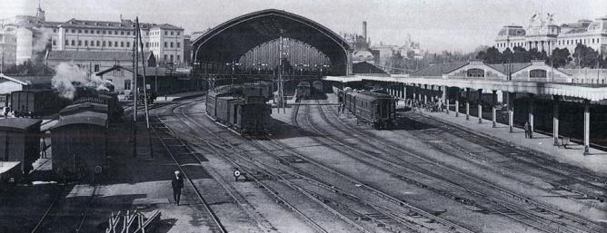 Estacion de Stocha., C.1930, autor desconocido.