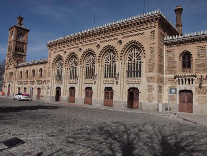 Estación de Toledo, fondo Treneando -Mikel Iturralde